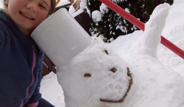 ZIMSKA GALERIJA PŠ snežakov